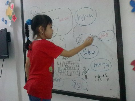 English for Children @ Language Assistance, Denpasar-Bali